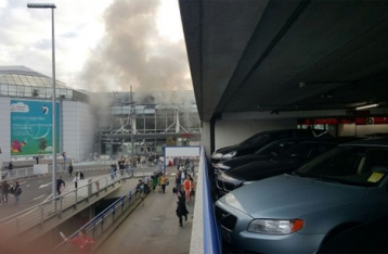 В аэропорту Брюсселя прогремели два сильных взрыва. Есть погибшие