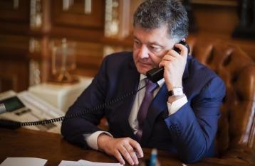 Порошенко призвал генсека ООН надавить на РФ для освобождения Савченко