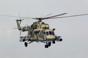 Российский вертолет нарушил воздушное пространство Украины