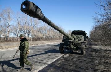 НВФ впервые за долгое время открыли огонь из ствольной артиллерии