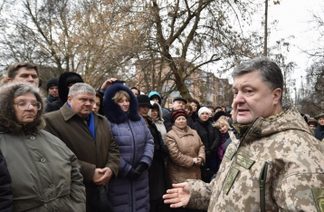 Порошенко: Мы готовы сотрудничать с выбором украинского Донбасса