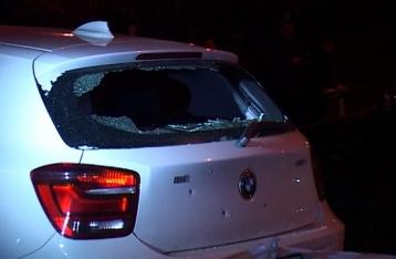 В машину Парасюка бросили гранату