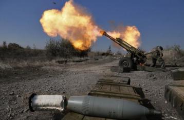 Ситуация в зоне АТО резко обострилась, за сутки 77 обстрелов