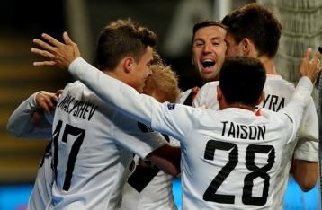 «Шахтер» победил «Брагу» в 1/4 финала Лиги Европы