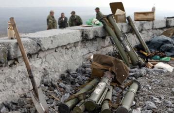 НВФ применили артиллерию под Мариуполем
