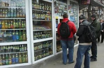 В столичных МАФах запретили продавать алкоголь