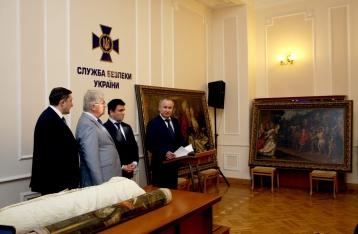 СБУ нашла несколько украденных из голландского музея картин