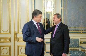 Порошенко надеется на дальнейшую интеграцию Украины в ЕС