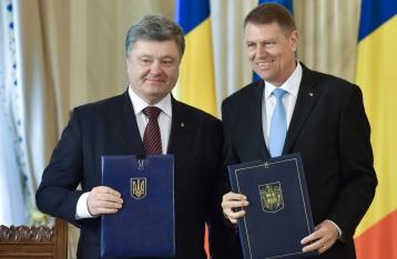 Порошенко: Румыния начнет поставлять газ в Украину