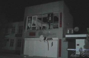 В Геническе взорвали магазин