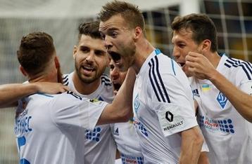 «Динамо» стало 15-кратным чемпионом Украины