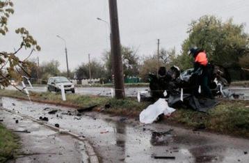 На КПВВ под Еленовкой подорвались два авто: четверо погибших