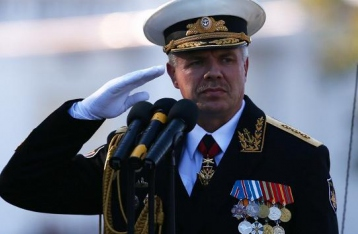 Суд разрешил арест командующего ЧФ РФ