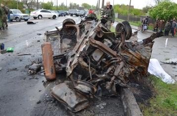 ОБСЕ: Еленовку обстреляли с запада