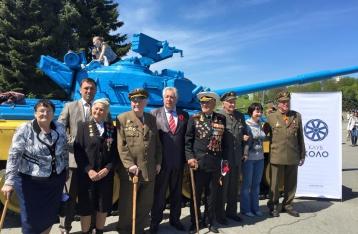 К 9 Мая ветераны и участники войны получат по 400 гривен