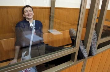 В РФ ожидают заявления Савченко о желании отбывать наказание в Украине
