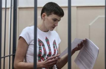 В Минюст РФ поступил запрос от Савченко о возвращении в Украину