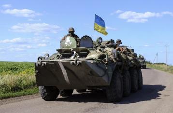 За прошлые сутки ранены 10 украинских военных