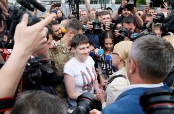 Савченко: Прошу прощения у матерей, чьи дети не вернулись из АТО
