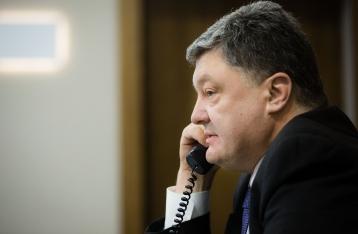 Порошенко выступает за усиление санкций против РФ
