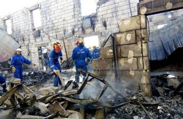 Пожар в доме престарелых под Киевом унес жизни семи человек