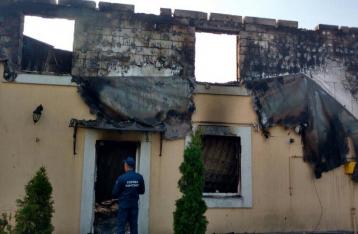 Подозреваемый по факту пожара в доме престарелых под Киевом задержан