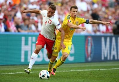 Украина завершает выступление на Евро-2016 поражением от Польши
