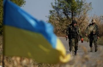 За сутки в зоне АТО погиб военный, 11 – ранены