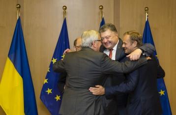 Порошенко: Нигде в Европе нет так много веры в ЕС, как в Украине