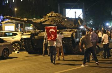 Попытка военного переворота в Турции: число жертв достигло 265 человек