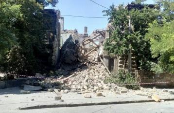 В Одессе рухнул «Масонский дом», под завалами могут быть люди
