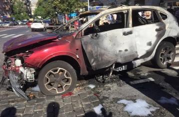 Опубликовано видео закладки взрывчатки под автомобиль Шеремета