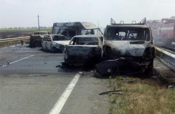 На трассе Одесса-Киев столкнулись сразу 8 авто, погибли 3 человека