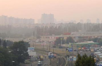 Загрязнение воздуха в Киеве в разы превысило норму