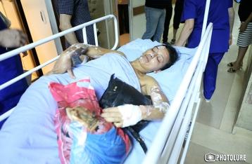 В Ереване в ходе столкновений пострадали 60 человек
