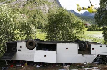 В Норвегии автобус с украинцами попал в ДТП, один человек погиб