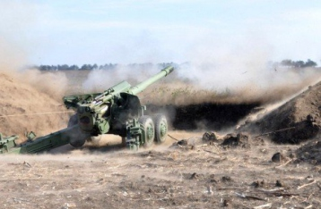 НВФ 71 раз открывали огонь, Зайцево обстреляли из сверхтяжелой артиллерии