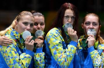 Украинские саблистки завоевали «серебро» на Олимпиаде-2016