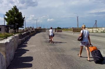 Госпогранслужба: Ситуация на границе с Крымом спокойная