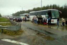 В Подмосковье в результате ДТП погиб украинец, еще двое ранены