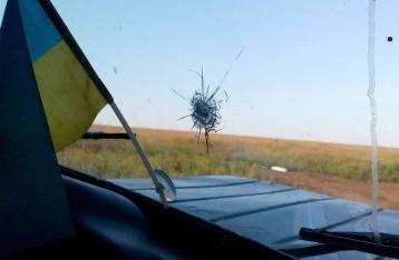 Штаб: НВФ обстреляли наблюдателей украинской стороны СЦКК