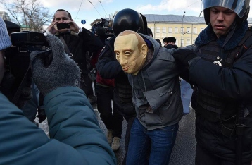 Российский активист попросил убежища в Украине