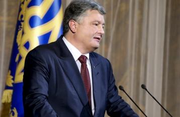 Порошенко считает, что доля украинского языка на телевидении недопустимо мала