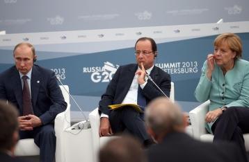 Меркель, Олланд и Путин обсудят ситуацию в Украине на саммите G20