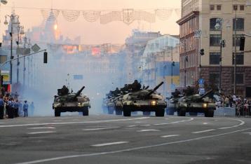 В Киеве проходит военный парад ко Дню Независимости (онлайн-трансляция)