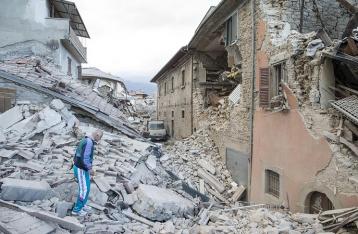 Во время землетрясения в Италии украинцы не пострадали