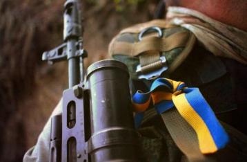 За прошлые сутки погиб один боец АТО, 9 – ранены