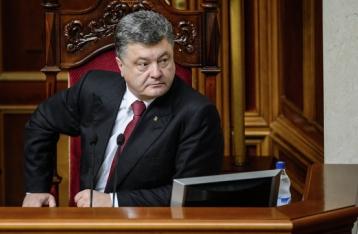 Порошенко выступит в Раде с ежегодным посланием 6 сентября