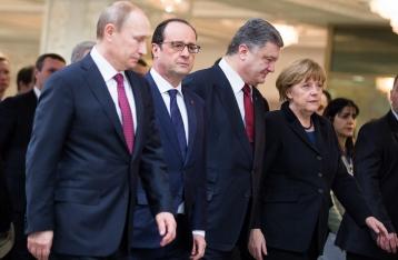 У Путина еще не определились с «нормандским форматом»