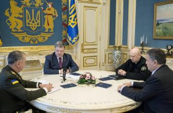 Порошенко поручил Луценко расследовать поджог «Интера»